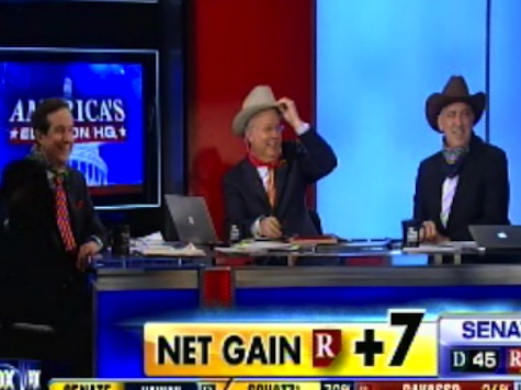 Fox News Busts Out the 'Campaign Cowboys' to Celebrate Calling GOP Wave