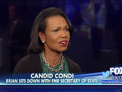 Condi Rice to Dems: 'You Don't Have to Tell Me How to Be Black'