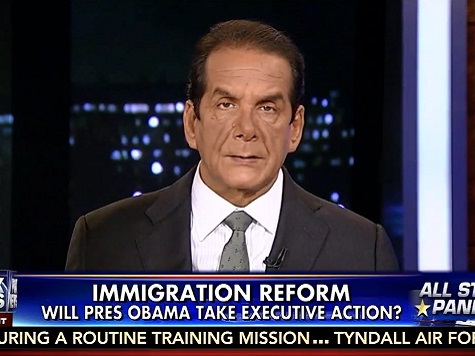 Krauthammer: Exec Amnesty Shows 'Arrogance and Contempt'