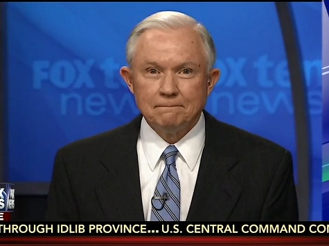 Sessions: Obama Executive Amnesty 'Decimating Law Enforcement'