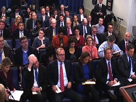 Press Laughs, Groans at Earnest Until He Admits Obama Disappointed with Election Results