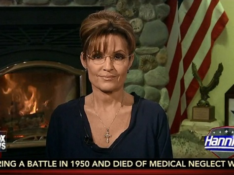 Palin: Dems Will Circle the Wagons for Hillary