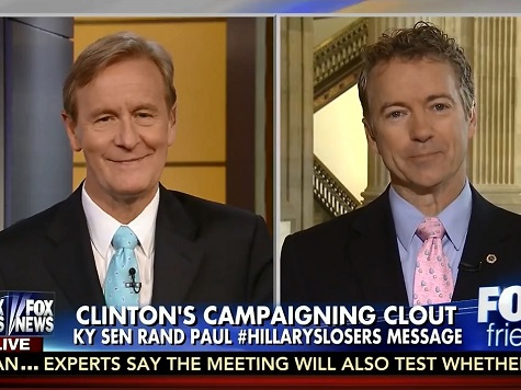 Rand Paul Continues Hillary Attack: 'The 1990s Was a Long Time Ago'