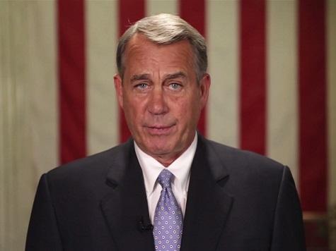 Boehner: Keystone XL, Obamacare, Tax Reform on GOP Agenda