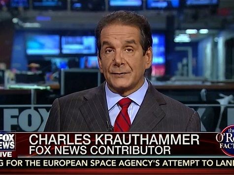 Krauthammer: ObamaCare Architect Remarks 'True Voice of Liberal Arrogance'