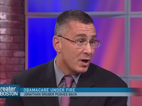 Gruber Earned $5.2 Million from Obamacare Deception