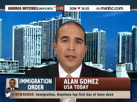 USA Today Reporter: Obama's Authority to Grant Work Permits Untested