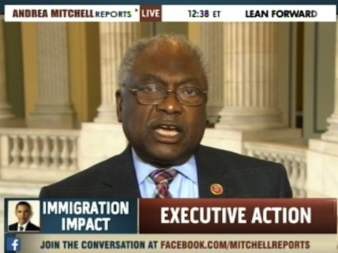 Clyburn Likens Obama Amnesty to Emancipation Proclamation