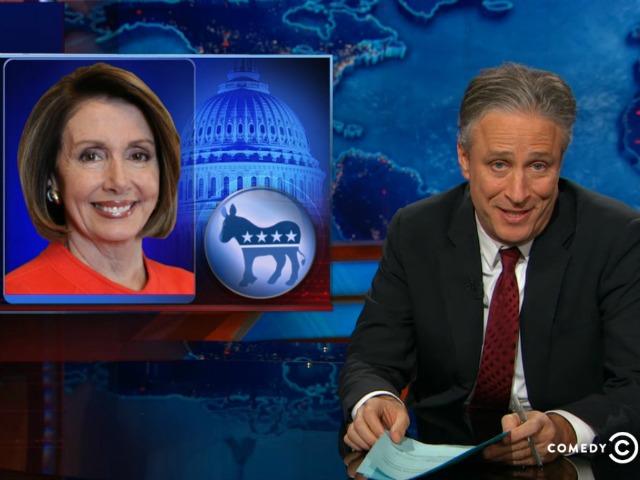 Jon Stewart Hammers Nancy Pelosi for 'Politically Craven' Move Against Tammy Duckworth