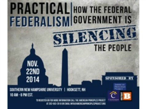 Watch: Livestream of Practical Federalism: How the Federal Government is Silencing the People