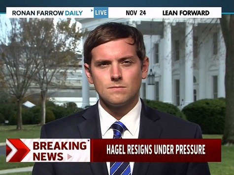 Russert: Hagel Struggled as 'Outsider' in Obama Admin