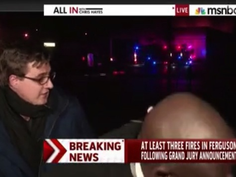 MSNBC Anchor Chased Off Air By Gunfire