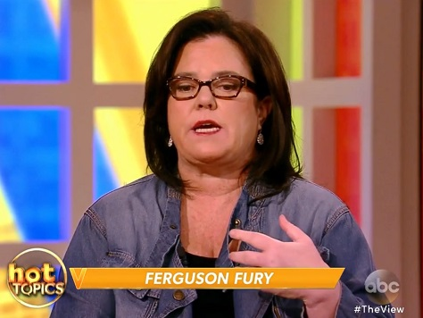 Rosie O'Donnell: Grand Jury Announcement 'Calculated' to Cause Riots