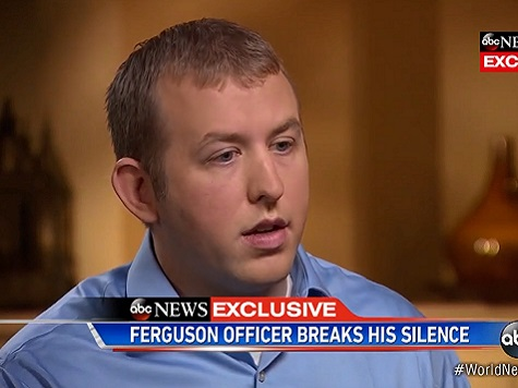 Darren Wilson: Sorry For Brown's Loss, But 'Clean Conscience'