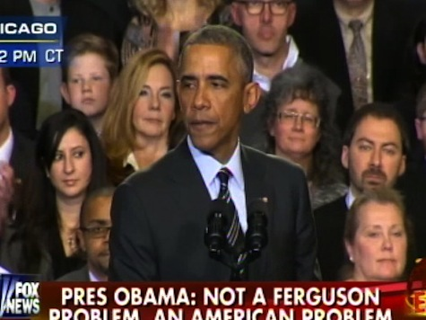 Obama Lectures America About the Justified Anger Towards Law Enforcement in Minority Communities
