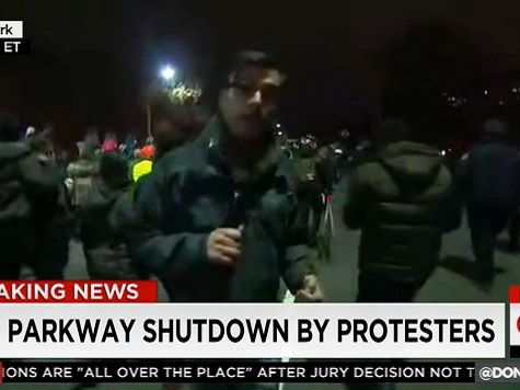 CNN: NYC Protesters 'Determined' with 'Strong Message'
