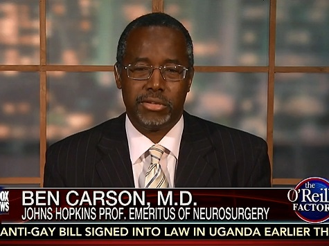 Carson: Cops Could Be Trained to Shoot For The Legs