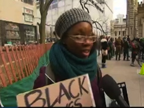 Protester: 'Rioting Has its Place,' Boycotting Black Friday Also Important