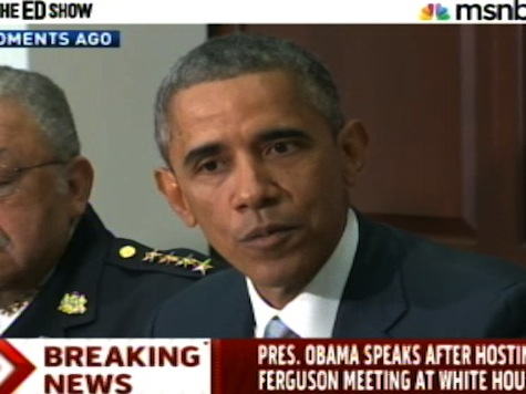 Obama Signs Another Executive Order to Solve Race Relations Following Ferguson