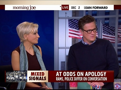 Scarborough on 'Hands Up' Gesture: 'It's a Lie,' 'What Is Wrong With This Country?'