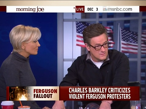 Scarborough: It's Not the Police's Job to 'Make Primetime People on MSNBC Feel Better'
