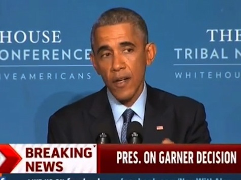 Obama on Garner Decision: I Have a Task Force Working on This