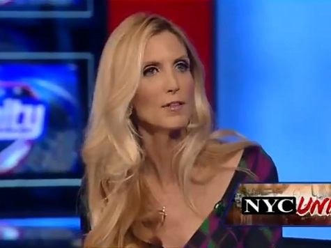Coulter on Garner Incident: 'Do Not Stand Between a Liberal and His Taxes'