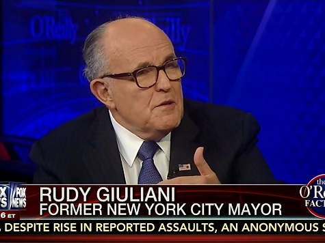 Giuliani: What Has Sharpton Done But 'Watch a lot of People Get Killed and Blame It on the Cops?'
