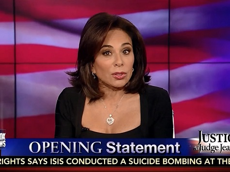 Pirro: Obama Judges Criminal Cases 'Not On Facts, But On Color'