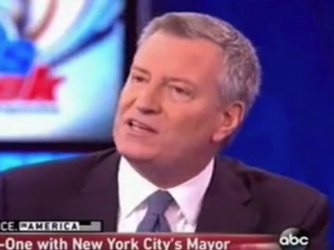 De Blasio: Dems Need to Take on Wealthy, Make Them Do Their Fair Share