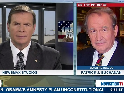 Buchanan on GOP Immigration Push: 'Republican Party Is Indeed Going the Way of the Whigs'