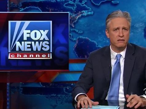 Jon Stewart Responds to Own Factual Inaccuracy Revelation with Anti-Fox News Tantrum
