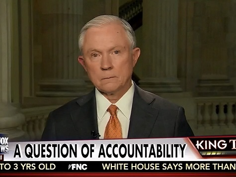 Sessions: 'Still Hopeful' Congress Blocks Exec Amnesty 'This Year'