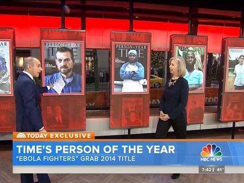 Watch: TIME Names 'Ebola Fighters' Its 2014 'Person of the Year'