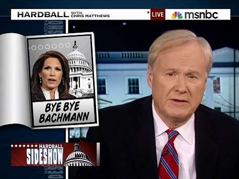Chris Matthews: Bachmann 'Queen of the Hard Right Clown Car'