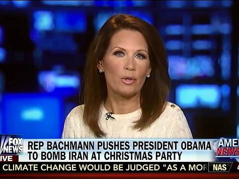 Bachmann: Obama Dismissive When Pressed on Iran Nukes