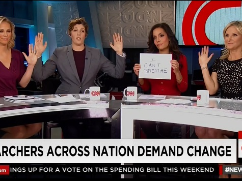 CNN Hosts Pledge Support for Michael Brown, Eric Garner Protesters