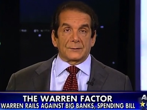 Krauthammer: If Warren Runs for President, I'd be Her Number One Supporter