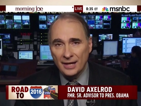 Axelrod: 'You Hear Ready for Hillary — It's Like Ready for What?'