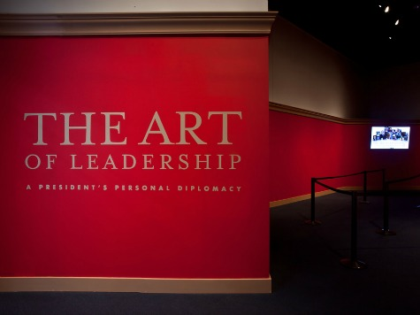 Preview of George W. Bush's New Exhibit, 'The Art of Leadership'