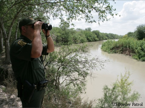 Border Patrol Rescues 5-Year-Old Honduran Girl from Rio Grande River