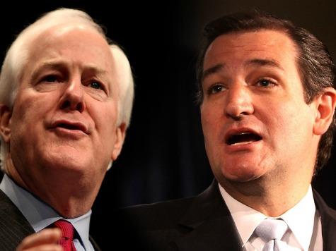 Cruz Endorses Cornyn and Tea Party's Konni Burton in General Election