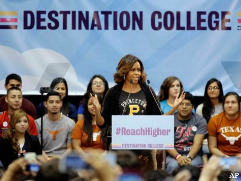 Mrs. Obama: Skipping College is 'Not Acceptable'