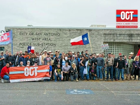 Protesters Organize for 'Open-Carry' in San Antonio