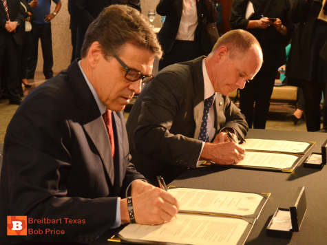 Australian State Formalizes Free Trade Ties in Texas