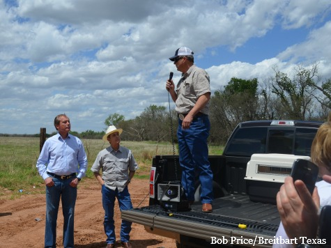 Texas Rancher Tells BLM Story with Dewhurst, Patterson (Video)