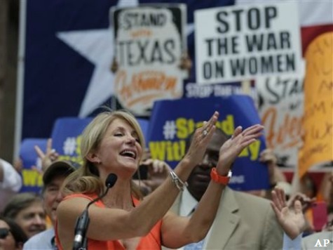 Wendy Davis Campaigns with Radical Leftist… in Chicago