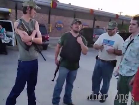 Texas Gun Activists Booted from Restaurants, Spurs Liberal Media Assault