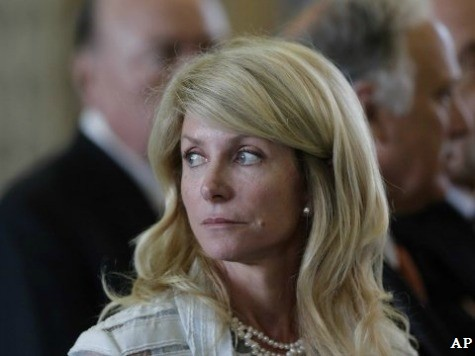 Wendy Davis Attacks Republican Analyst With Out-of-Context Statement