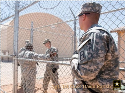 Fort Hood Soldiers Train for GITMO Assignment